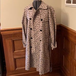 Lovely Marc Jacobs trench coat Size L Tan/Black